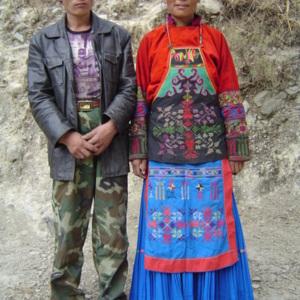 La tenue moderne d'un prêtre-chamane (Xiangjiao)