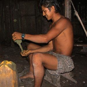 La coca à mâcher des Yucuna (La Pedrera)