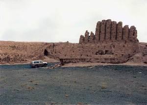 Citadelle du Khorezm ou Khwarezm (Karakalpakstan)