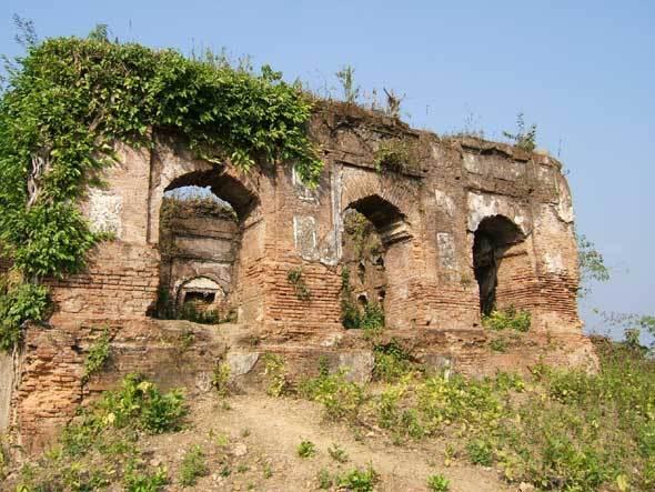 Palais en ruine à Udaipur