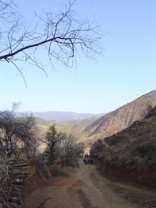 Le départ du chemin des caravanes, de Yongning (Yunnan) vers Yiji (Sichuan)