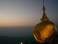 Le rocher d'or de Kyaikhtiyo